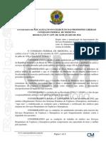 RES-CFM 2077-2014 - Normatização Dos Serviços Hospitalares de Urgência