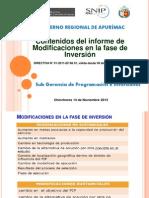 Presentacion Opi 5- Modelo de Contenido de Informe Ue