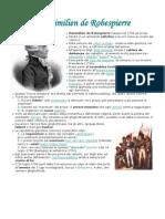 Sintesi personaggi - Robespierre, Hebert, Sieyès, Marat