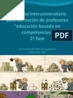 10. Formulación de Competencias Programa Interuniversitario