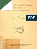 Poesias Ineditas Del Conde de Villamediana