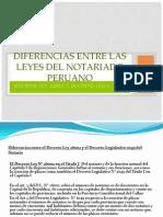 Diferencias Entre La Ley 26001 y Dec. Legislativo 1049