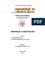 Ascencio Mac Pherson Trabajo Constitucion Arbitrje Final Dr