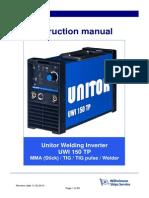 UWI 150 TP Owners Manual