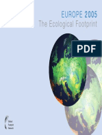 Europe 2005 Ecological Footprint