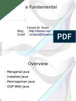 Pelatihan Java Fundamental