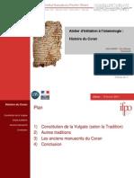 Histoire Du Coran Diapo