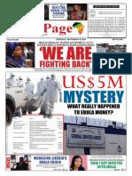 Thursday, September 18, 2014 Edition