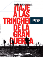Viajes a Las Trincheras de La Gran Guerra