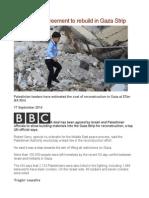UN Brokers Agreement to Rebuild in Gaza Strip