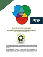 Desarrollo Sostenible o Sustentable