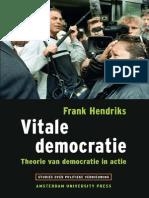 Hendrik Vitale Democratie_Theorie Van Democratie in Actie