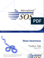 ISOS Ebola Awareness ToolBoxTalk v6 08August2014 ENGLISH