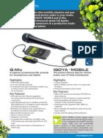 DIGI_MARCOM-2013 Brochure Mobile & Qmic