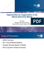 7. Opportunities for Cogeneration in the Alberta Electricity Market - Gopi