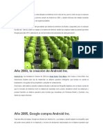 Android Historia