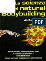 La Scienza Del Natural Bodybuilding (Claudio Tozzi, BIIO)