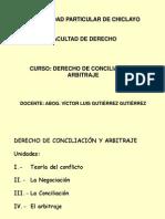 Clase 1-Curso de Derecho de Conciliación y Arbitraje