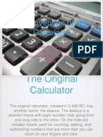 the invention of the calculator-1