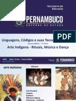 Arte Indígena Rituais Música e Dança