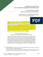 (Bezerra, Araujo, 2013) Em Busca Da Flor Viva-para Uma Crítica Ao Ideário Inclusivista Em Educação