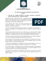 09-10-2010 El Gobernador Guillermo Padrés se comprometió a dejar de lado los temas superficiales y asumir costos para hacer frente a los rezagos estructurales que tiene Sonora. B101033
