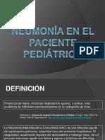 neumona en pediatra