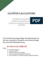 Elevator Calculations