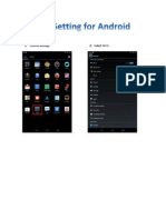 User Manual for Wireless setting for Android