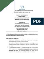 1º Trabalho de Direito de Processo Civil - 12-09-2014