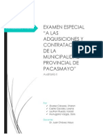Examen Especial de La m.p.p.