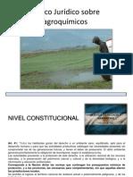 Marco Jurídico Sobre Agroquímicos