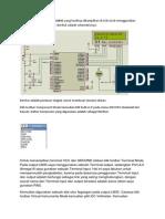 Aplikasi Pembacaan Suhu LM35 Yang Hasilnya Ditampilkan Di LCD 2x16 Menggunakan Mikrokontroler ATmega16