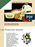 Procesamiento de Productos Lacteos Trabajo2014
