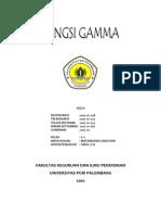 Fungsi Gamma dalam distribusi probabilitas