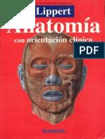 Anatomia Con Orientacion Clinica - Lippert
