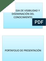 Estrategia de Visibilidad y Diseminación Del Conocimiento