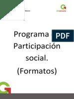 Formatos de Documentos Para Carpeta de Participacic3b3n Social 2012 2013
