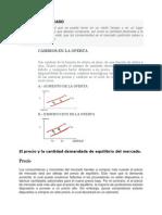 Concepto de Oferta Del Mercado
