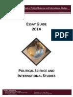 Essay Guide 2014