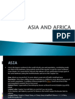 Asia and Africa_ppt Kls 6