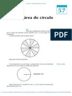 57 a Area Do Circulo
