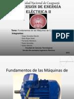Conversion Electrica II Fundamentos de Maq. c.A