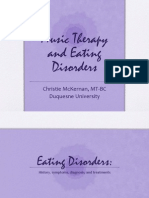 Music Therapy and Eating Disorders