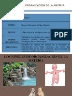 9e685e Niveles de Organizacion de La Materia