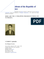 Presidents of the Republic of the Philippines 1
