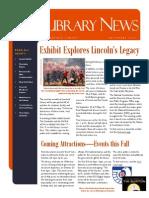 Library News September 2014