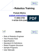 CCRW – Robotics Training