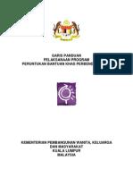 6 Garis Panduan Pelaksanaan Program Peruntukan Bantuan Khas Perbendaharaan