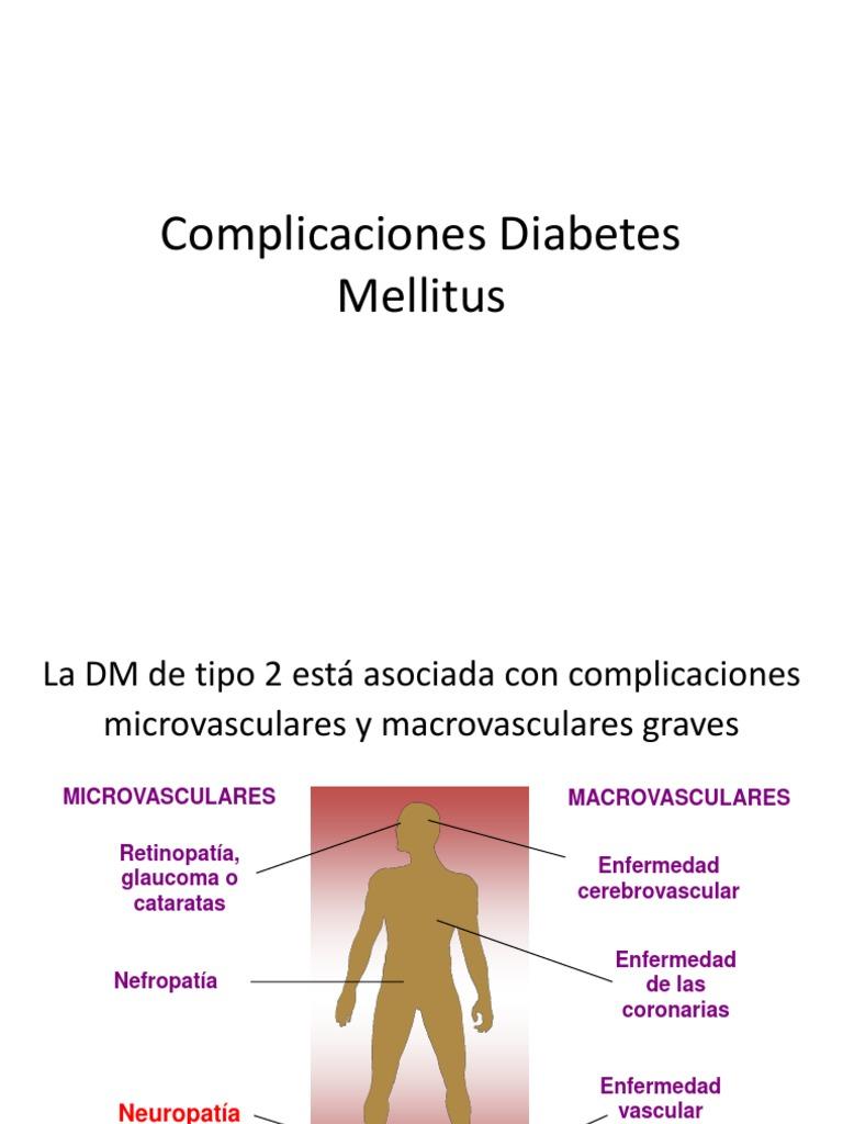 diabetes complicaciones microvasculares